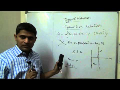 Class 12 XII Maths CBSE Relations