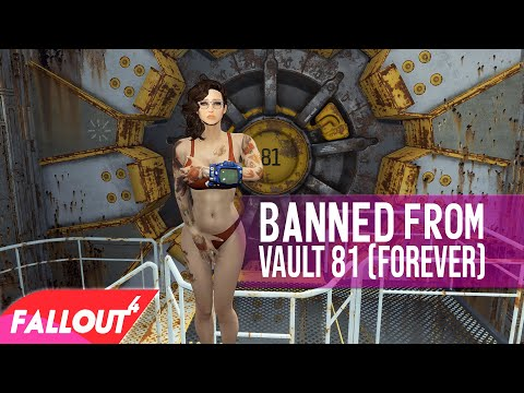 Fallout 4 - WHAT HAPPENS WHEN YOU DON'T GIVE CURE!? - Vault 81 Alternate Outcome - New Karma System