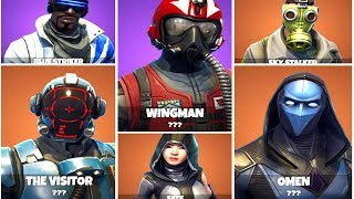 About 25 NEW SKINS - EMOTES - BLOCKBUSTER LEAKED! Fuite de peau de Fortnite