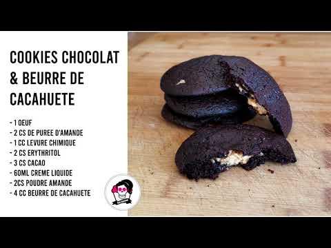 cookies-chocolat-&-beurre-de-cacahuète-(cÉtogÈne)