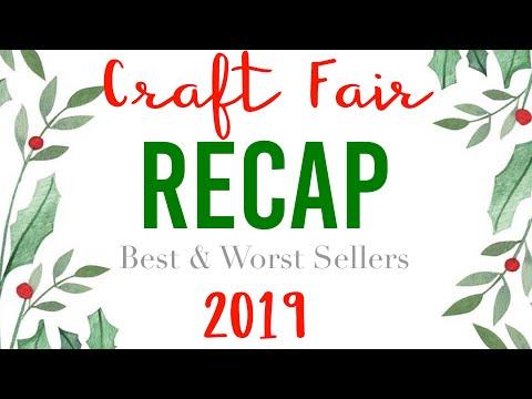 Craft Fair Recap 2019 | Best & Worst Sellers
