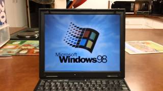 This is an IBM ThinkPad X21, it has a PIII 700mhz with 256mb of RAM...