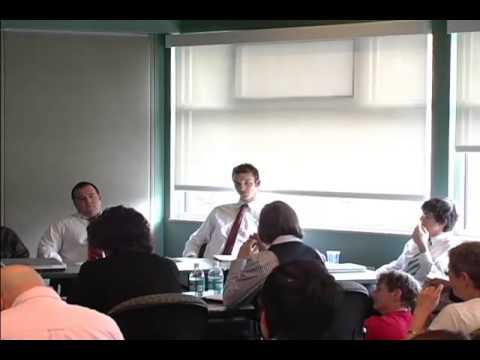 2009 UMass Undergraduate Economics Debate: Market Failure 2008: The Greenspan Debate