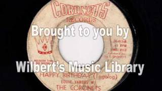 HAPPY BIRTHDAY (Tagalog) - Eddie Vargas w/ The Coronets
