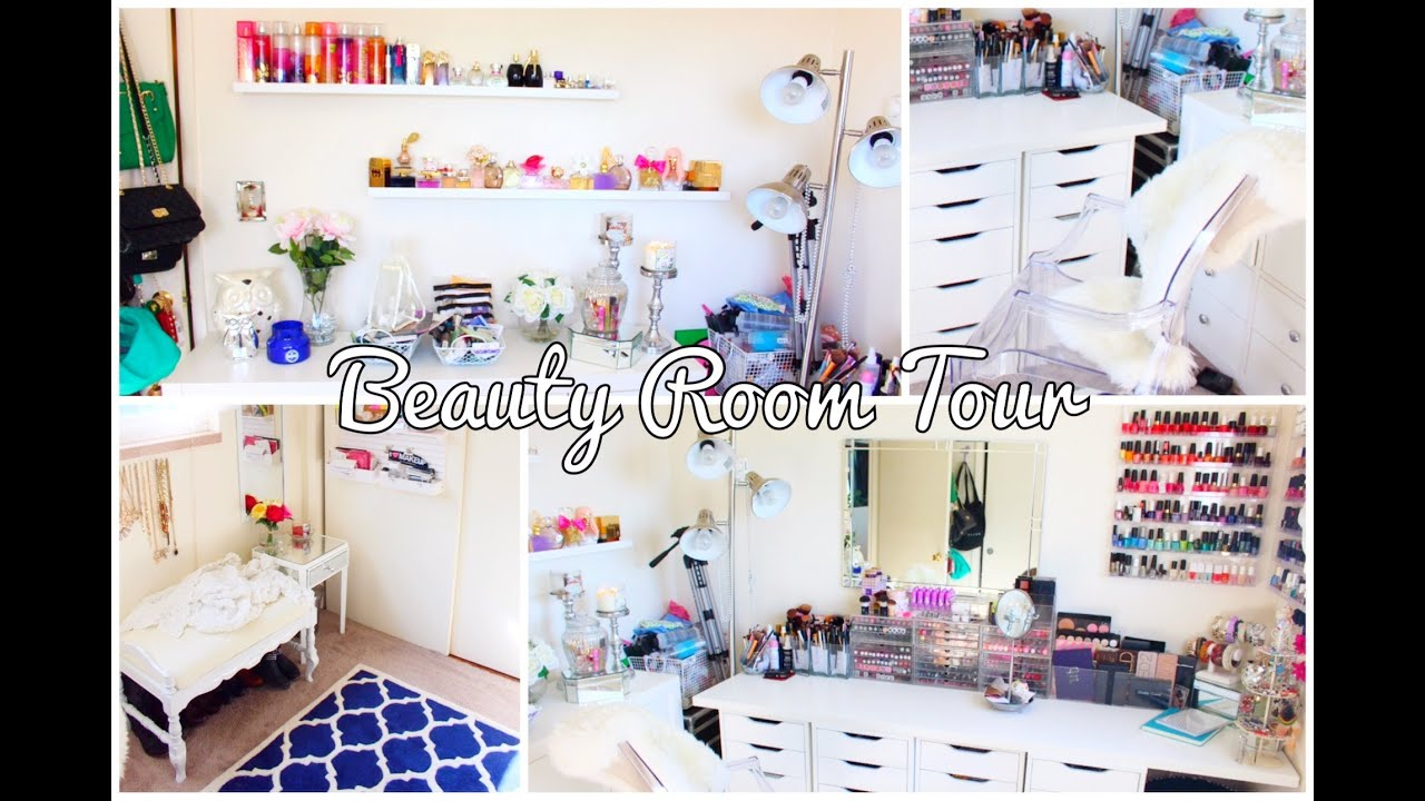 Beauty Room Tour 2014 QueenCarlene YouTube