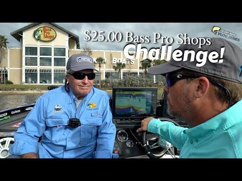 $25.00 Bass Pro Shops Fishing Challenge