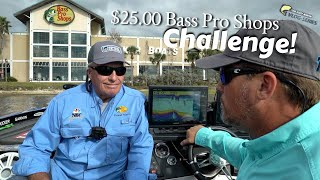 $25.00 Bass Pro Shops Fishing Challenge