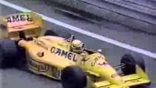 GP EUA 1987 - Vitória Ayrton Senna - Melhores Momentos F1
