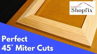 How to Cut Perfect Miters for Picture Frames