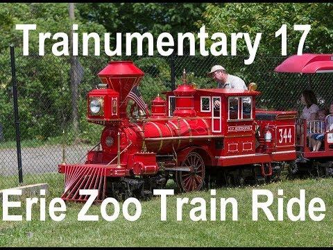 Trainumentary 17: Erie Zoo Historic Train Trek Through Zoo, Over 103-year-old Trestle!