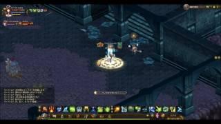 殴りプリのseriaさんと、お座りモンクのserinaさんが、迷宮貪欲10階を攻略します。