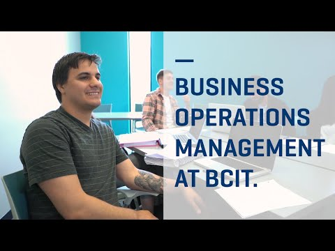 BCIT : : Business Operations Management: Full-time, Diploma