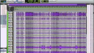Editing Drums in Pro Tools using Elastic Audio