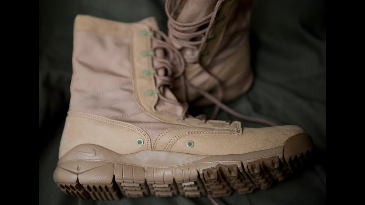 Combat Boots Nike Sfb Special Field Boot Youtube