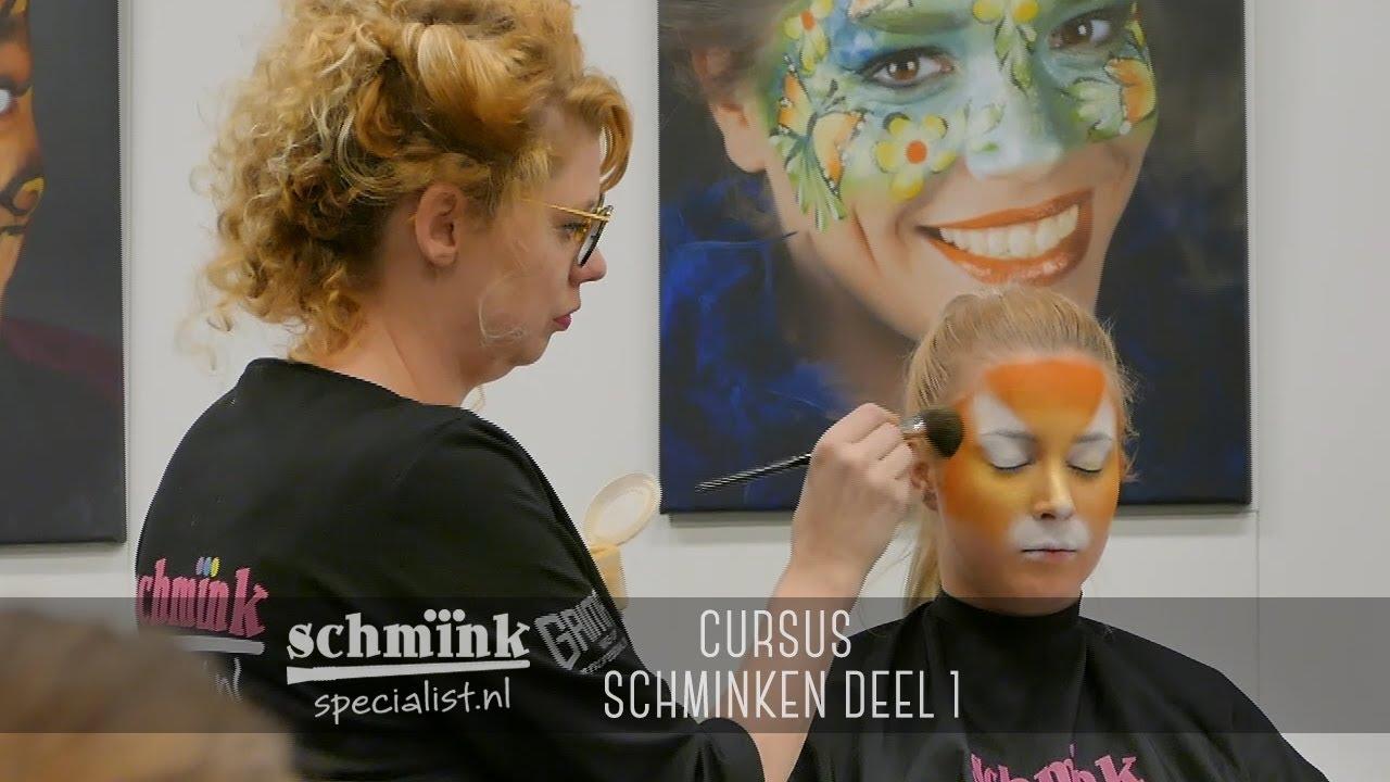 Vaak Cursus schminken deel 1 - YouTube &GS39