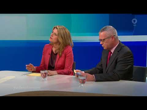 ARD Farbe bekennen - Interview am 14. März 2018 mit Bundeskanzlerin Angela Merkel