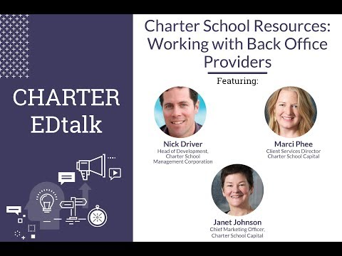 CHARTER EDtalk: Working with a Back Office Provider