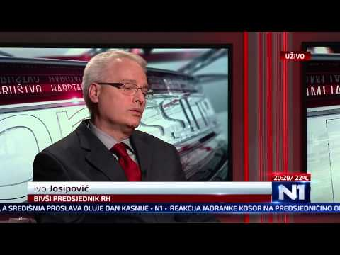 N1 Pressing: Ivo Josipović (20.5.2015.)