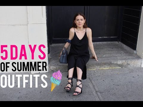 5 DAYS IN OUTFITS | MELSOLDERA
