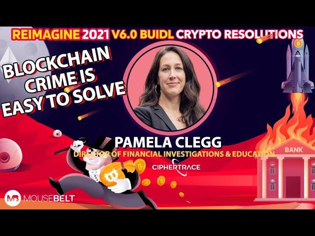 Cops & Robbers | Pamela Clegg - Ciphertrace | REIMAGINE v6.0 #11