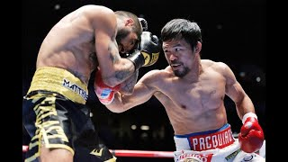 Pacquiao's 105 uppercut does the trick
