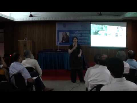 Lecture by Ms. Susan Zielinski on 'Urban Mobility - Challenges, Practices and Innovations'
