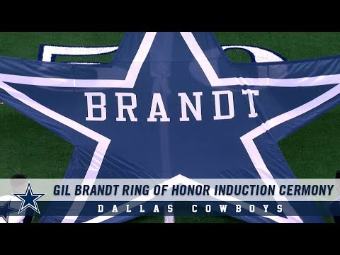 Gil Brandt Ring Of Honor Induction Ceremony | Dallas Cowboys 2018