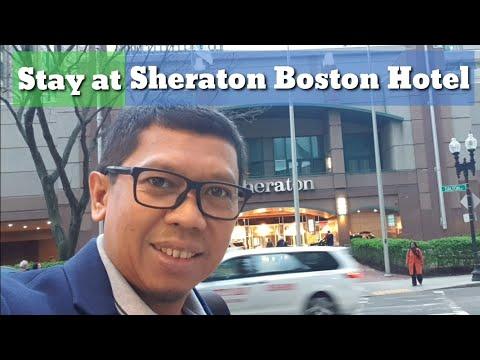 Stay At Sheraton Boston Hotel