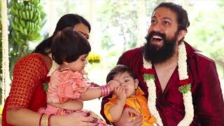 Yash Son's Naming Ceremony Full Video | Rocking Star Yash | Radhika Pandit | Ayra Yash | Yatharv