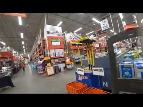 VISITING LOCAL HOME DEPOT I MISSISSAUGA I CANADA I URDU I HINDI