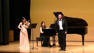 橋本弦法テノール カルディッロ作曲「カタリ・カタリ(慕情)Core 'ngrato」