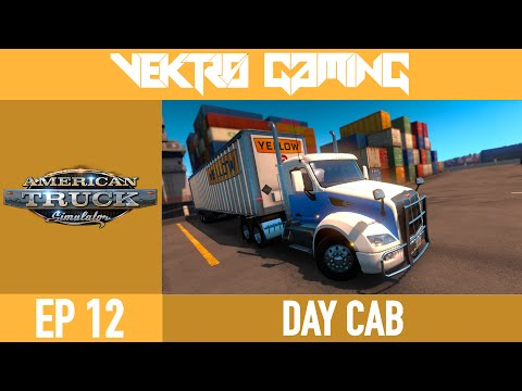 American Truck Simulator - 12 - Day Cab [Peterbilt 579]