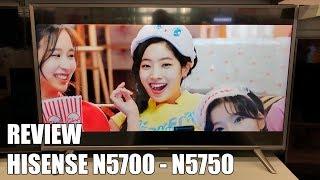 Review Hisense N5700 - N5750 Nueva Television $k UHD HDR Smart TV 2018