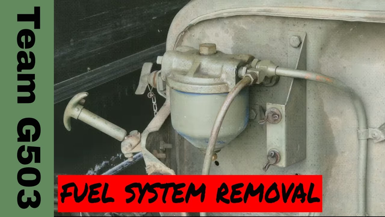 small resolution of 1943 willys mb team g503 removing the fuel supply system