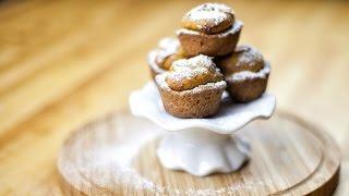 Mini Pumpkin Cheesecakes - Mini Serniczki Dyniowe-  Recipe #186