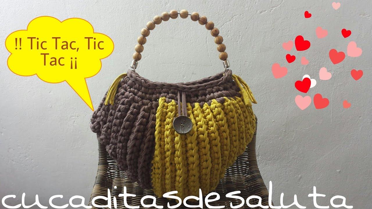 of Forma Handbag Corazón ¡¡ de Efectos Trapillo Bolso Surcos nwUqxv8FxC