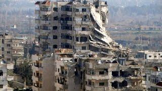 حملة قصف لنظام الأسد وروسيا على ريف حمص