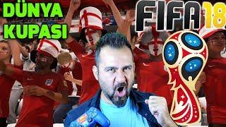 FIFA 18 DÜNYA KUPASI MODU! | İNGİLTERE-TUNUS