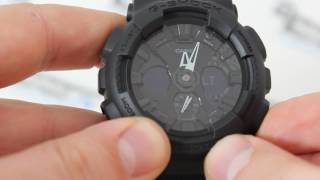 Casio G-SHOCK GA-120BB-1A [GA-120BB-1AER] - Як налаштувати G-Shock, інструкція від PresidentWatches.Ru