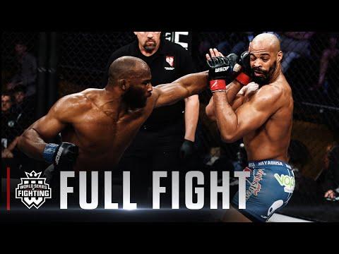 #WSOF30: David Branch vs. Clifford Starks Middleweight Title Fight