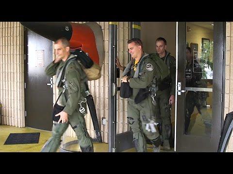 F-15E Strike Eagle Takeoff From Seymour Johnson Air Force Base