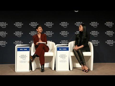 Davos 2016 - An Insight, An Idea with Yao Chen