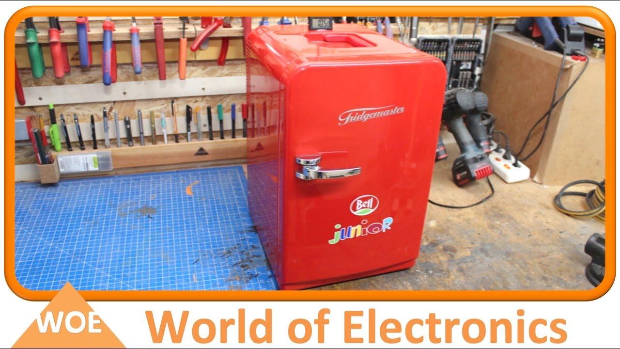 Mini Peltier Kühlschrank Kaufen : Mini kühlschrank reparieren so geht s youtube