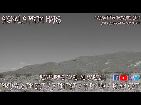 Carl Alvarez | Signals From Mars October 8th, 2021