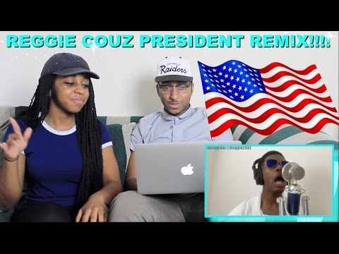 Couple Reacts : Reggie Couz #KnowYourPresidents Remix Reaction!!!