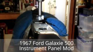 1967 Ford Galaxie 500 Instrument Panel Conversion