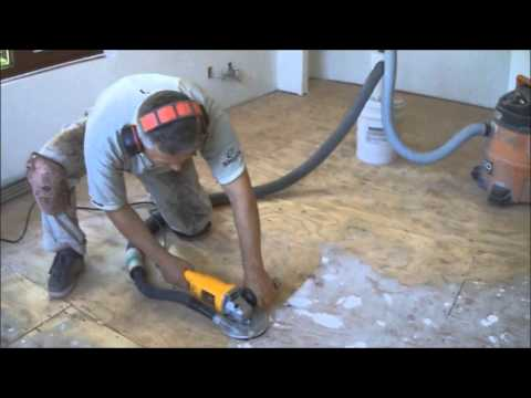 Plywood Subfloor Preparation for Hardwood Laminate Floor Installation How-to Mryoucandoityourself