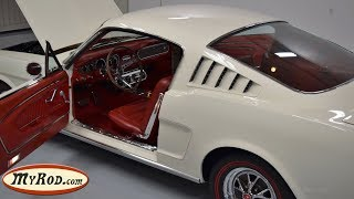 1965 Mustang 2+2 Fastback  with red pony interior - MyRod.com