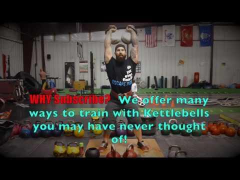Heavy Kettlebell Jerk Overload Training w Joe Daniels