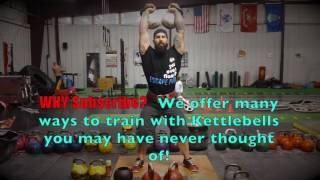 Heavy Kettlebell Jerk Training Joe Daniels